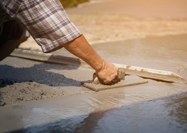 concrete pour yakima