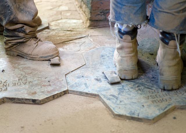 stamped concrete yakima